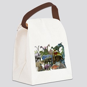 ALL WHITE Canvas Lunch Bag