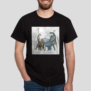 3-sauropods Dark T-Shirt