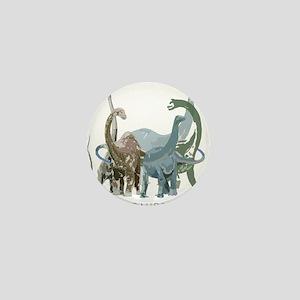 3-sauropods Mini Button