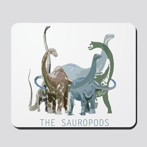3-sauropods Mousepad