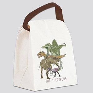 3-theropods Canvas Lunch Bag