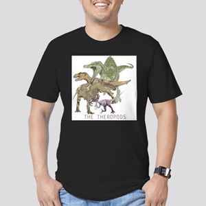 3-theropods Men's Fitted T-Shirt (dark)