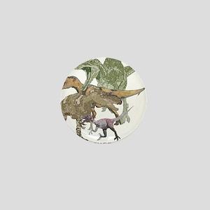 3-theropods Mini Button