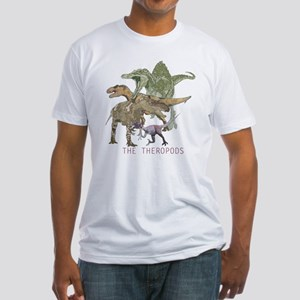 3-theropods Fitted T-Shirt