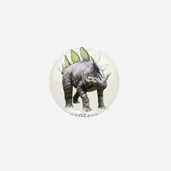 Unique Stegosaurus Mini Button
