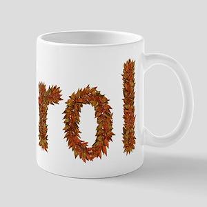 Carol Fall Leaves Mugs