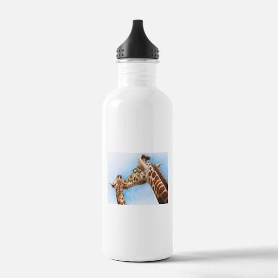 Giraffe and Calf Water Bottle