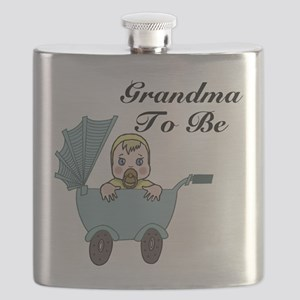 Grandma To Be Carriage Flask