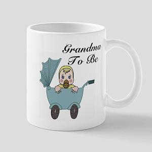 Grandma To Be Carriage Mugs