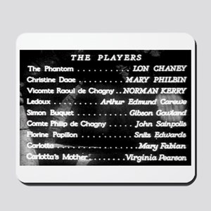 """The Players"" Title Mousepad"