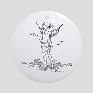Lily Ornament (Round)