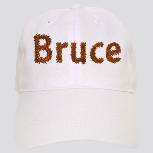 Bruce Fall Leaves Baseball Cap