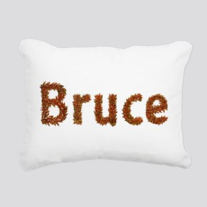 Bruce Fall Leaves Rectangular Canvas Pillow