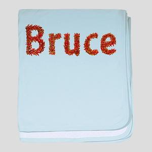 Bruce Fall Leaves baby blanket