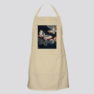 butterfly japanese textile Apron