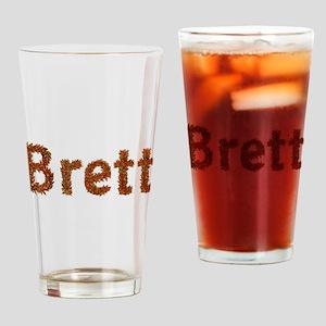 Brett Fall Leaves Drinking Glass