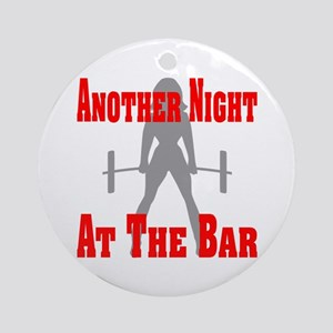 Another Night At The Bar Ornament (Round)