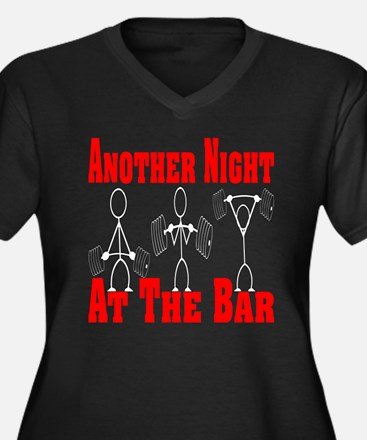 Another Night At The Bar Women's Plus Size V-Neck