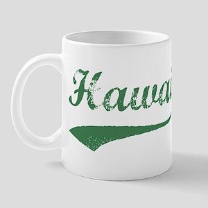 Vintage Hawaii (Green) Mug