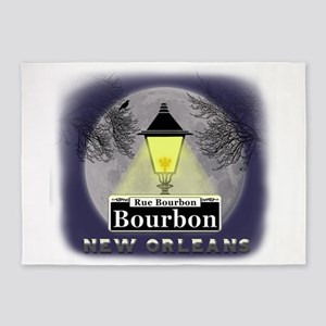 New Orleans Full Moon 5'x7'Area Rug