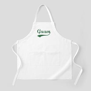 Vintage Guam (Green) BBQ Apron
