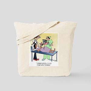 It's A 6 lb Audio Tech Tote Bag