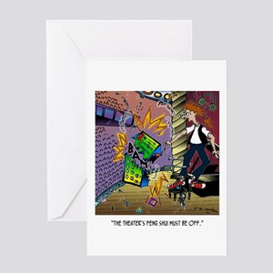 Feng Shui is Off Greeting Card