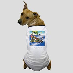 What luck! A Sound Technician Dog T-Shirt