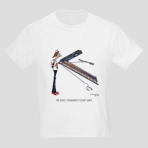 The Audio Tech's Pocket Knife Kids Light T-Shirt