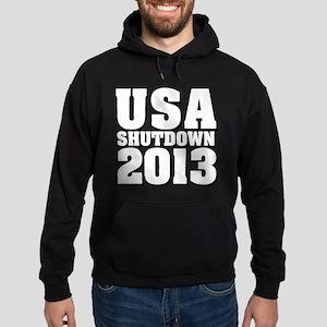 USA Shutdown 2013 Hoody