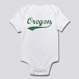 Vintage Oregon (Green) Infant Bodysuit