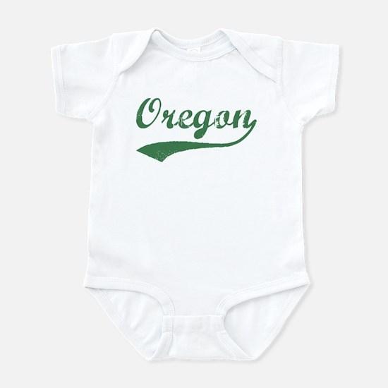 Vintage Oregon (Green) Infant Bodysuit