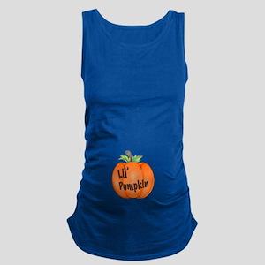 Lil Pumpkin Maternity Tank Top