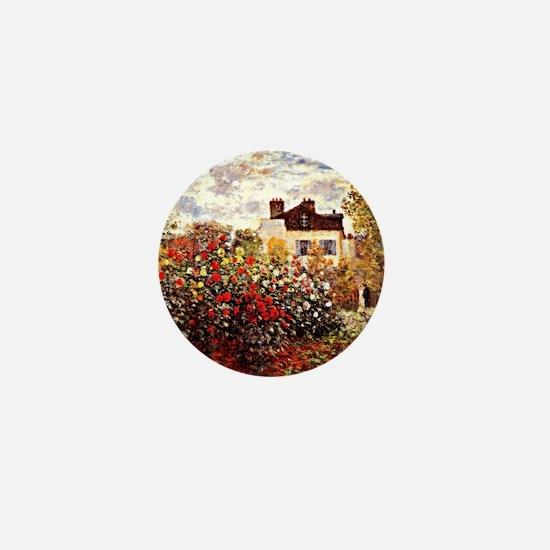 Unique French impressionism Mini Button