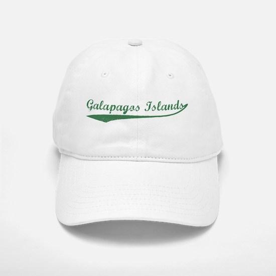 Vintage Galapagos Islands (Gr Baseball Baseball Cap