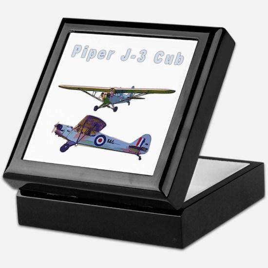 Piper J-3 Cub Keepsake Box