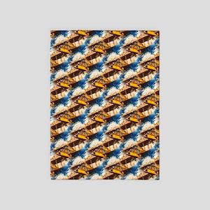 Wings Aloft Pattern 5'x7'Area Rug