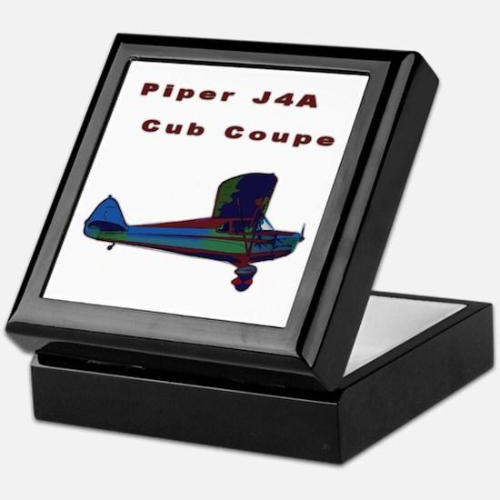 Piper Cub Coupe Keepsake Box