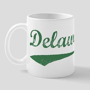 Vintage Delaware (Green) Mug