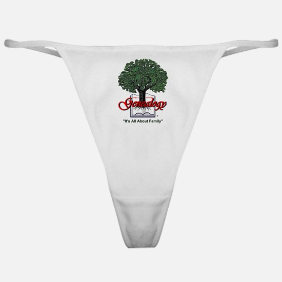 It's All About Family Classic Thong