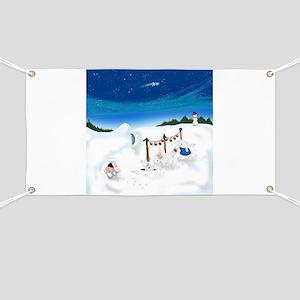 Christmas Bunny Stockings (twxtw) Banner