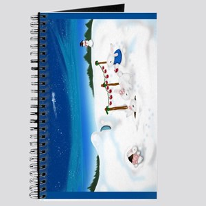 Christmas Bunny Stockings (twxtw) Journal