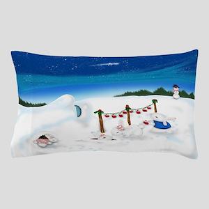 Christmas Bunny Stockings (twxtw) Pillow Case