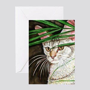 Chausie Cat Greeting Cards
