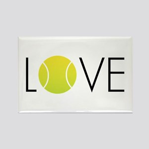 Tennis LOVE ALL Rectangle Magnet