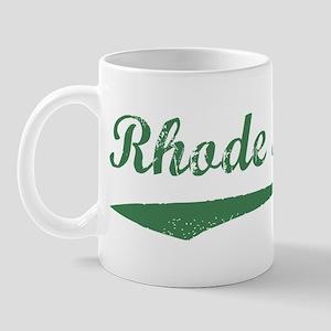 Vintage Rhode Island (Green) Mug