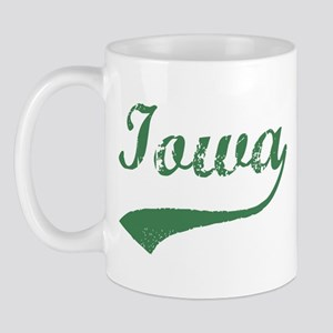 Vintage Iowa (Green) Mug