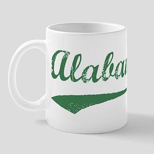 Vintage Alabama (Green) Mug