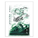 Jade Dragon Small Poster