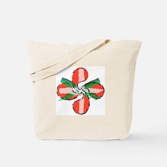 Painted Lauburu Tote Bag